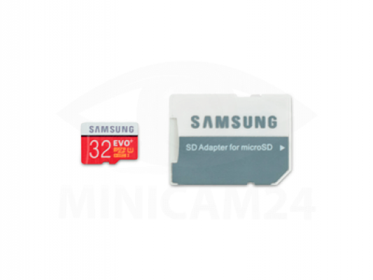 Карта памяти Samsung microSD EVO Plus 80MB/S 32GB + SD adapter-2